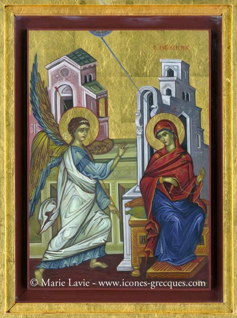 Annunciation to the Theotokos